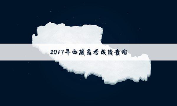 2017西藏高考短信成绩查询方式