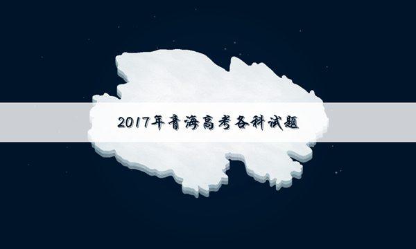 青海2017年高考文科数学真题及答案