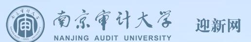 2018年南京审计大学迎新网入口