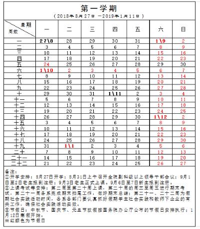 2018宁夏民族职业技术学院新生开学时间