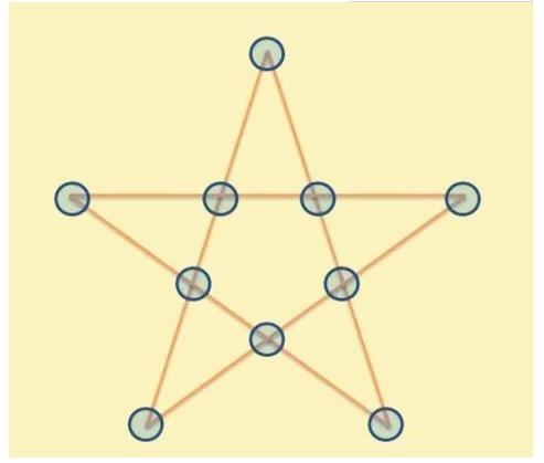 五角星填数字