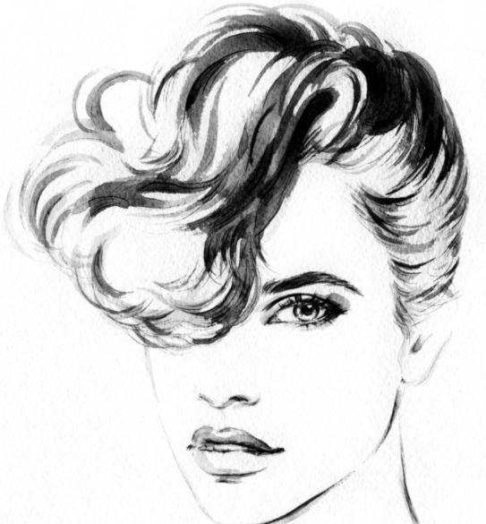 素描画简单好看易画人物 零基础学素描的步骤