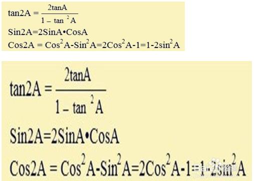 三角函数公式图解