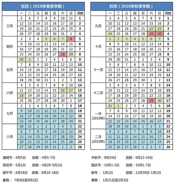 哈尔滨工程大学寒假放假时间安排