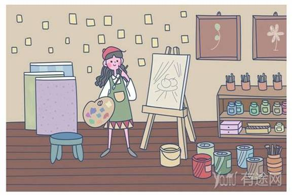 小孩子爱画画是普遍的,家长不要过于干扰!