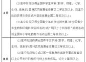 2019中南财经政法大学自主招生报名条件有哪些