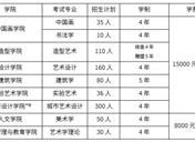 2019中央美术学院招生简章 招生计划及招生专业