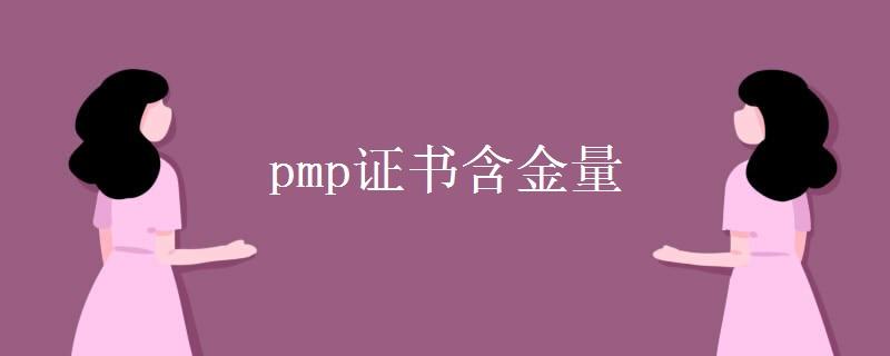 pmp证书含金量 报考条件是什么