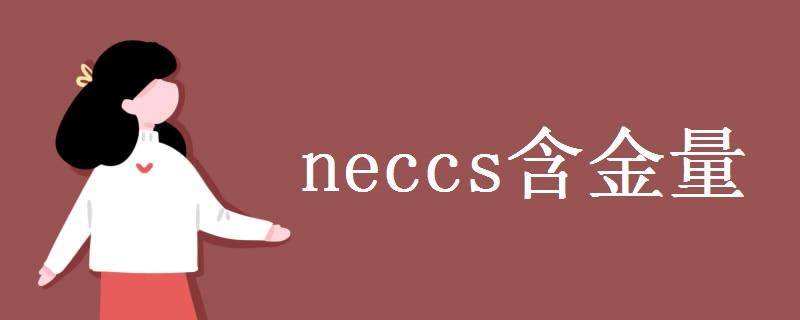 neccs含金量 neccs是什么