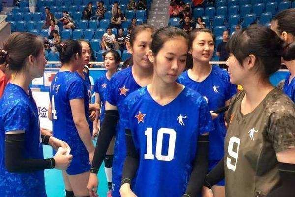 女排新星颜值逆天 中国女排一代更比一代美