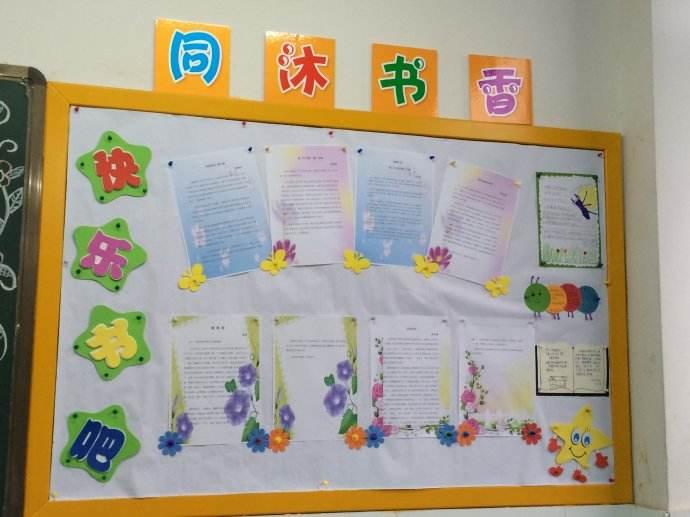 创意十足的班级文化墙精选设计图片