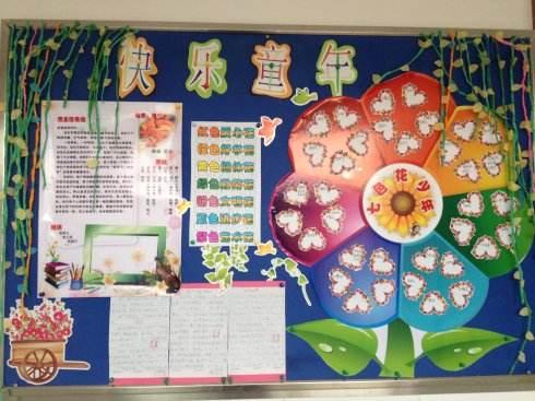 班级文化墙创意设计素材图片
