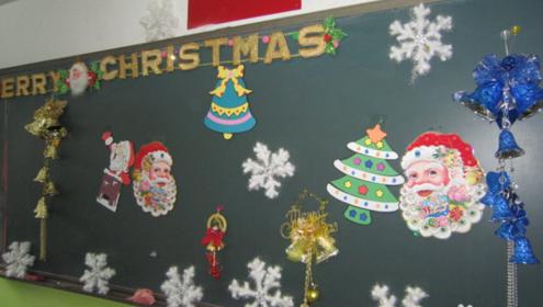 圣诞节如何布置班级最有创意