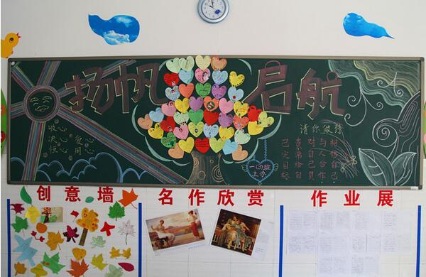 班级文化墙图片素材精选