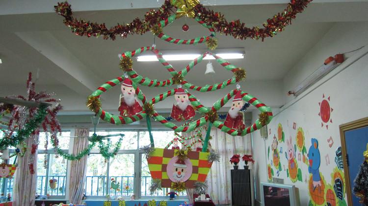 圣诞节如何有创意地布置教室