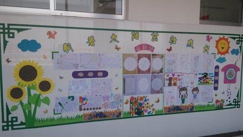 精选高中班级文化墙创意设计图片