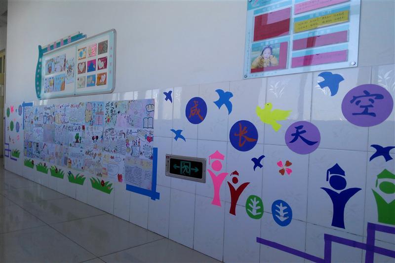 最有创意的班级文化墙布置图片