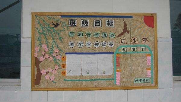 有创意的班级文化墙装饰图片