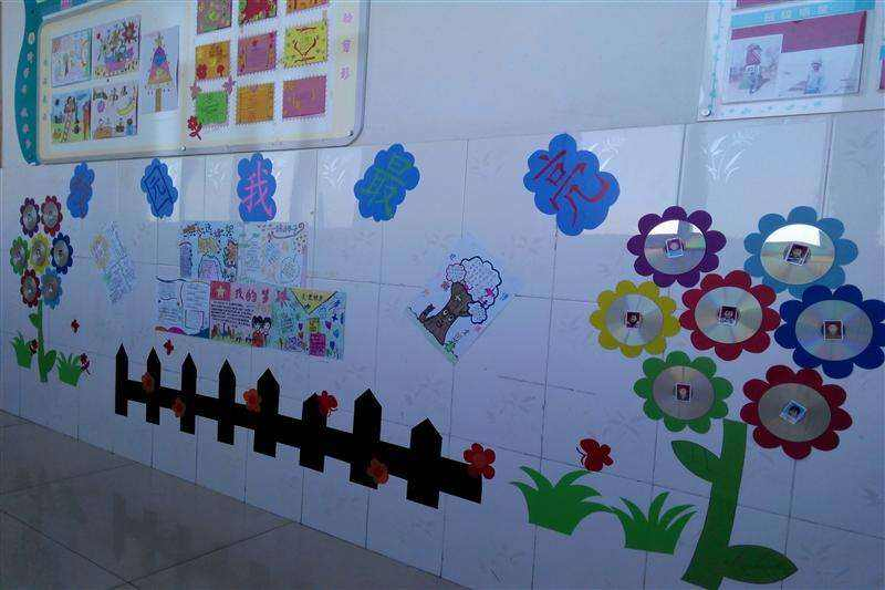 高中班级文化墙创意设计图片素材