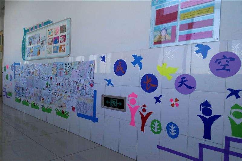 精选高中班级文化墙布置图片